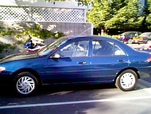 1998 Ford Eskort Sicherungstafel